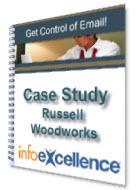 "Front cover of ""Case Study: Russel Woodworks Get Control of Info Results"""